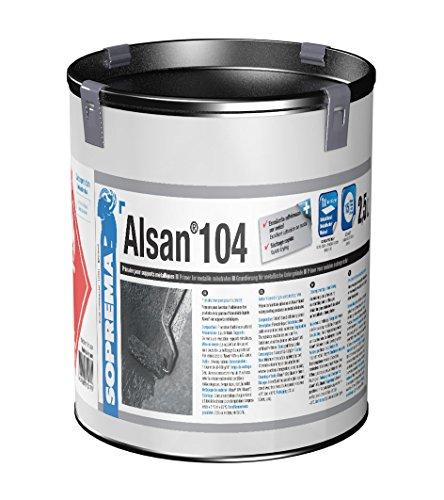 ALSAN 104 Metallgrundierung 1 Dose (2,5 kg) dient als Haftvermittler für Alsan auf metallischen Untergründe wie z.B. Stahl, Alu, Zink, Kupfer