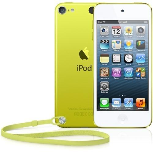 Apple iPod touch 64GB Lecteur MP4 64Go Jaune - lecteurs et enregistreurs MP3/MP4 (Lecteur MP4, 64 Go, LCD, Appareil photo intégré, 88 g, Jaune)