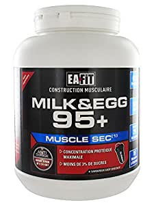 Eafit Milk & Egg 95+ Construction Musculaire 750 g - Saveur : Chocolat