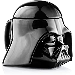 Star Wars Darth Vader 3D-Keramiktasse mit Deckel [Import Allemand]