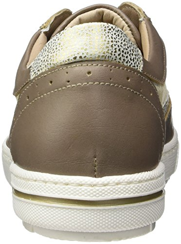 Be Natural 23610, Sneakers Basses Femme Beige (Sand 355)