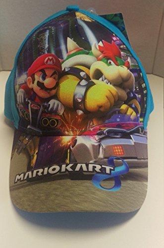 Preisvergleich Produktbild Super Mario Kart 8 Cappy Gr. 54 blau