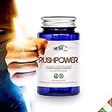 Rushpower - Creatina monoidrato,Vitamina B12 vegan e Taurina compresse-integratore x 1 mese di trattamento-Più energia per Sport e Massa muscolare (Promo su 2 pezzi)Contro stanchezza fisica e mentale