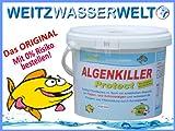 ALGENKILLER Protect - 1,5 kg Algen im Teich, Algenfrei- grünes Wasser, Algenmittel, Teichpflege, Algen-Pflege-Produkte