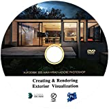 #6: Architectural Modeling & Rendering Realistic Exteriors in 3ds Max , V-Ray and Adobe Photoshop Video Training Tutorial in DVD