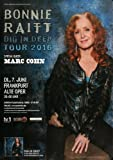 Bonnie Raitt - Dig In Deep 2016 - Konzertplakat, Konzertposter