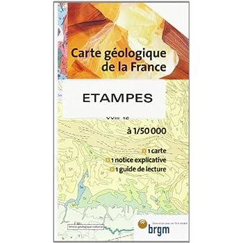 Carte géologique : Etampes