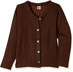 Rupa Thermocot Womens Plain / Solid Synthetic Thermal Top (VOLCANO_Brown_80)