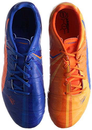 PUMA evoPOWER 1 H2H Men s Artificial Ground Football Boots  103821 01   Orange Clownfish   Electric Blue Lemonade   UK 9   EU 43   US 10   CM 28