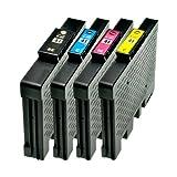 Tintenpatrone für Ricoh SG3100 GC-41 1xbk 1xcmy - BK, 40ml,Color je 32ml,kompatibel