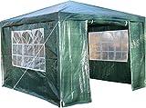 Airwave Pavillon 3 x 3 m, grün, Inklusive 1 x einzigartig gestalteter Windstangen für besondere Stabilität