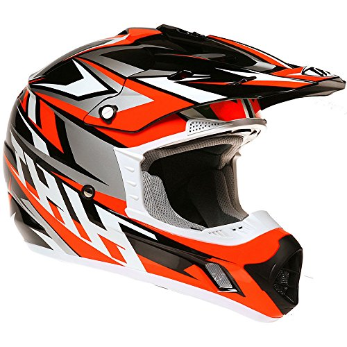 Thh tx12 # 20 adulto Off Road Motocross MX Enduro casco – Strike II