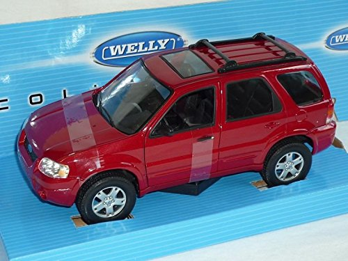 ford-escape-maverick-limited-rot-2000-2007-1-24-welly-modell-auto