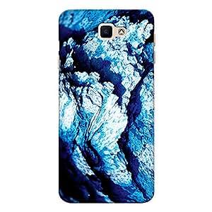 CrazyInk Premium 3D Back Cover for Samsung J5 Prime - Blue Rock Macro