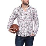 Laissez-vous charmer par cette chemise colorée à manches longues du thème Rugby Liberty. Griffée du logo Sébastien Chabal au niveau de la poitrine, un soin particulier a été apporté aux détails des imprimés floraux. Décontractée et distinguée, cette ...