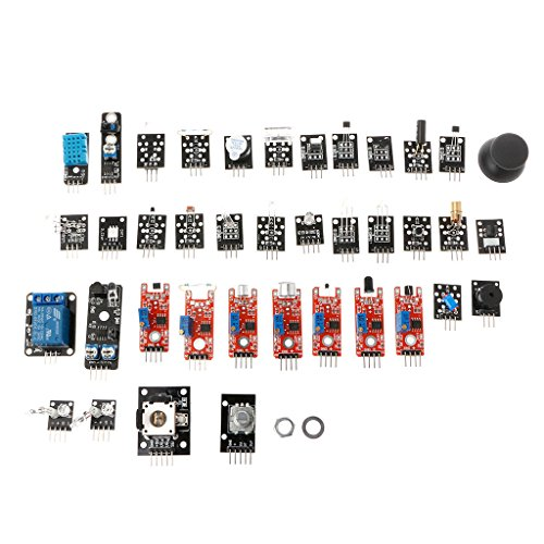 JENOR - Kit modulo sensore 37 in 1 per Raspberry Pi Arduino MCU