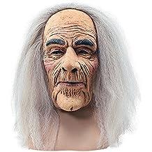 Masque de Déguisement Halloween - Vieil Homme avec cheveux
