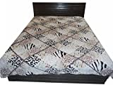 Amk home decor woolen bed sheet