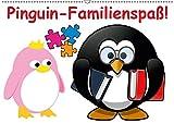 Pinguin-Familienspaß! / Geburtstagskalender (Wandkalender 2019 DIN A2 quer): Die lustige Cartoon-Familie in einem Kalender (Geburtstagskalender, 14 Seiten ) (CALVENDO Menschen)