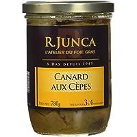 R. JUNCA Canard aux Cèpes 780g. - Lot de 3