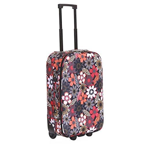 Slimbridge Algarve 55cm maleta súper ligero, Múltiples Flores