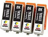 TONER EXPERTE 4 XL Schwarz Druckerpatronen kompatibel für Epson 378XL 378 XL Expression Photo XP-8500 XP-8505 HD XP-15000 XP-8000 XP-8005 | hohe Kapazität