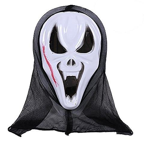 Mask Loveso Halloween Party Mischief Maske Horror Terror Ghosts Mask Disgusting Prank Mask (G) (Vampir Kostüm Diy)
