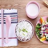 Kaxima Reisschüssel Haushalt Geschirr set Soup Bowl Stäbchen Löffel Platte