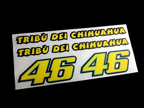 Ecoshirt 99-JEN9-PRD6 Pegatinas 46 Moto GP Ref:Eco08 Stickers Valentino Aufkleber Decals Adesivi,...
