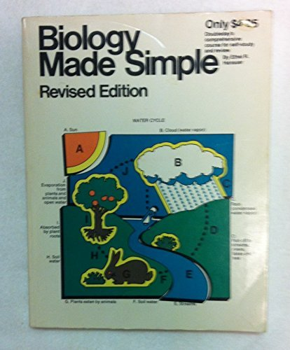 Biology Made Simple (Made simple books) by Ethel R. Hanauer (1972-06-01)