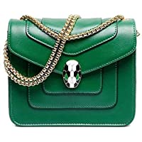 Fashion Green Shoulder Bag For Women Summer Style Chain Crossbody Bag Ladies Dress HandBag