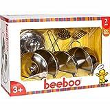 Kinderkochset - Topf-Set BEEBOO Edelstahl 7-teilig