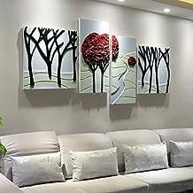 Amazones Cuadros Modernos Para Sala Li Jing Home - Cuadros-en-relieve-modernos