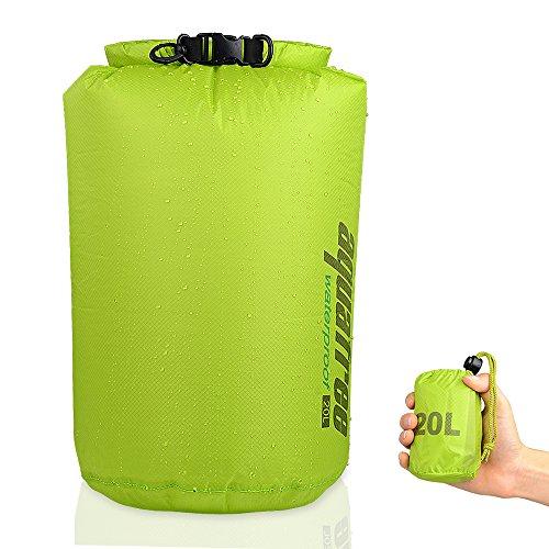 Saco impermeable Aquafree ultraligero. , verde
