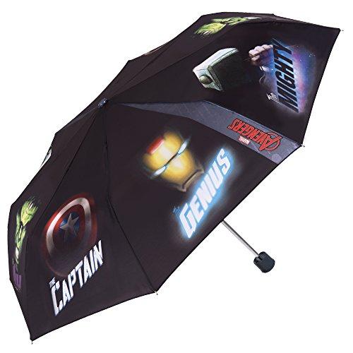 gen - Marvel Avengers Taschenschirm - Manuelle Öffnung Schirm (Die Avengers Von Disney)