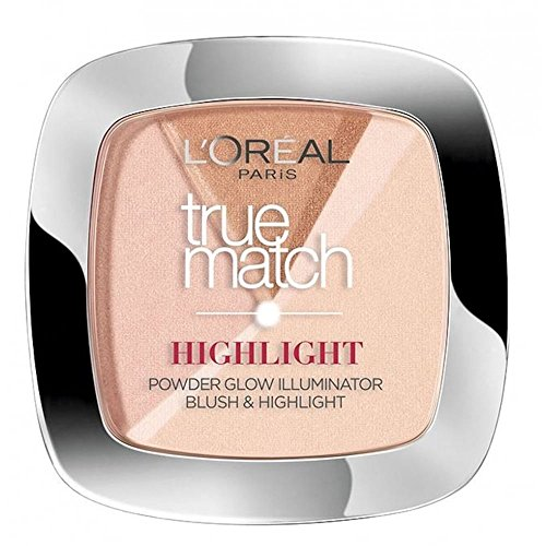 LOREAL TRUE MATCH POWDER HIGHLIGHT 202 ROSY GLOW (True L Match Powder Oreal)
