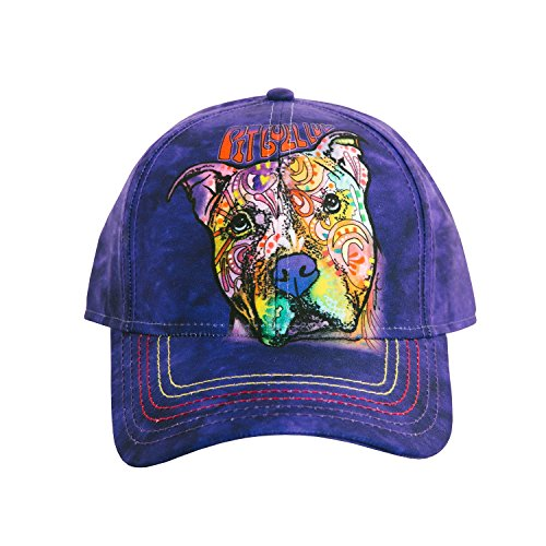 Preisvergleich Produktbild The Mountain Unisex Dean Russo Schildkappe Pitbull Luv Dog in lila