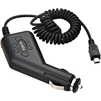 Cargador De Coche Para Motorola Razr V3 Blackberry Curve, Negro