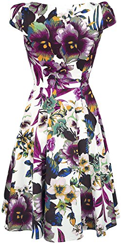 H&R London -  Vestito  - Donna Multicolore