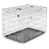 zoomundo XL Cage Pliante en Métal avec 2 Portes pour Chien Cage Box de Transport...