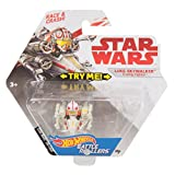 Star Wars Hot Wheels Darth Vader TIE Advanced Fahrzeug - Charaterfahrzeug Battle Rollers