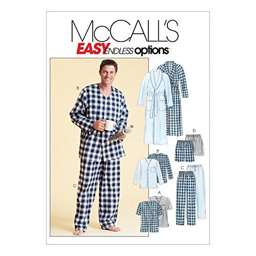 McCall 's Schnittmuster 44Herren (S Sleep/Lounge Wear Größen: XL-XXL