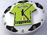 FanPlastic Gianluigi Buffon 1 Juventus FC – Legends Edition Fußball-Wanduhr !