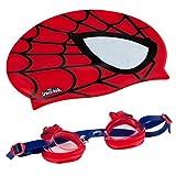 Eolo - SPIDERMAN Gorro & gafas natación infantil (ColorBaby 53451)