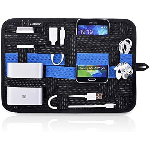 Organizador para Gadgets, Ugreen Organizador de Accesorios Digitales para Cables, Cargador portátil, Auriculares, Telefóno móvil, Tablet, etc