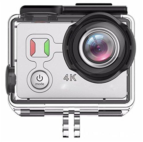 4K Ultra HD Action Kamera Touch Screen WIFI + 2.4G Fernbedienung 1200 Millionen Pixel 30M Wasserdichte 1050Ma Akkus