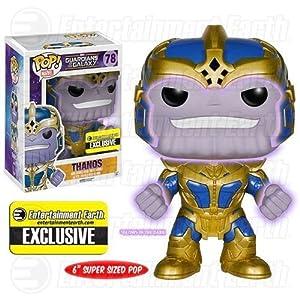 Funko Pop Thanos – Brillante en la oscuridad (Guardianes de la Galaxia 78) Funko Pop Guardianes de la Galaxia
