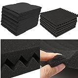 Piezas de repuesto para maleta de equipaje, plástico, 127 mm, color negro