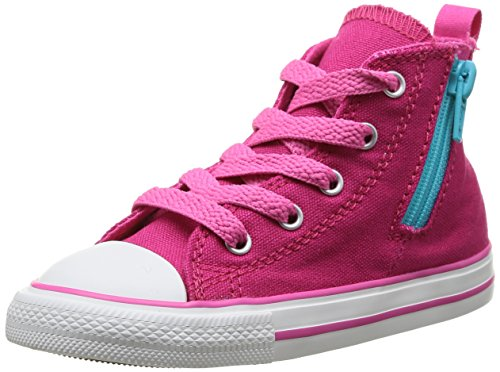 Converse Chuck Taylor Side Zip Hi, Baskets mode mixte enfant