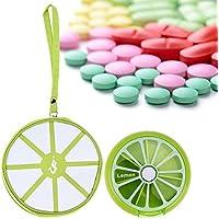 prosperveil Lovely Fruit Muster Rund 7Tage Tablet Pille Weekly Halter + Medizin Tasche preisvergleich bei billige-tabletten.eu